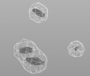 Magnet force metaballs
